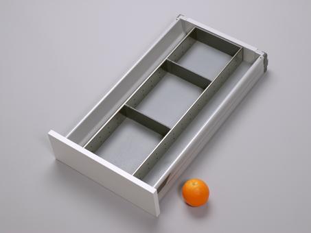 schubladeneinsatz f r k chenschubladen besteckschubladen oder f r b romaterial. Black Bedroom Furniture Sets. Home Design Ideas