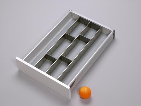 orgalux einteilungsystem orga line schubladeneinteilung k chenschublade b roschublade. Black Bedroom Furniture Sets. Home Design Ideas